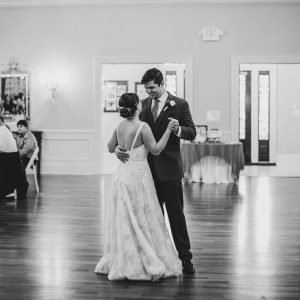 Max and Amanda first dance